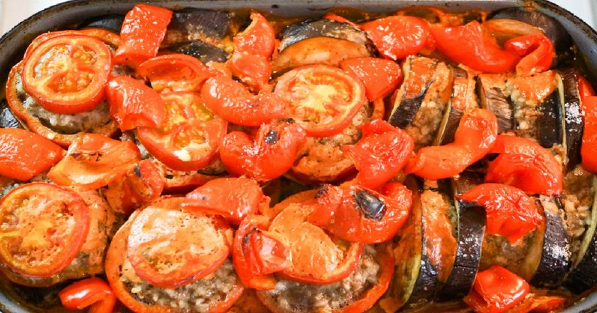 Фаршировані овочі подивитися рецепт