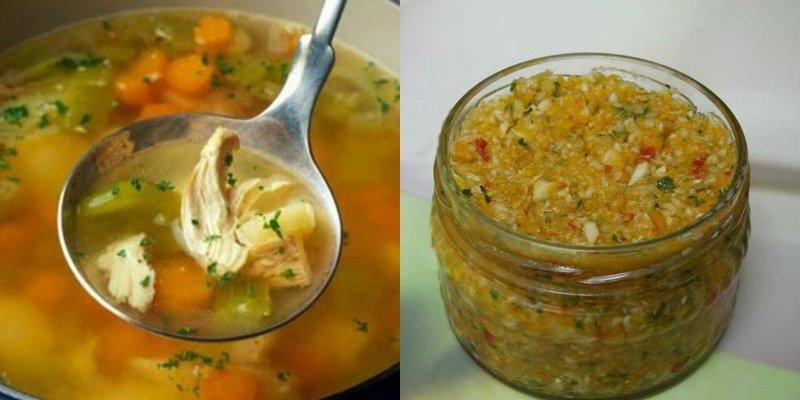 Домашня заготівля для супу