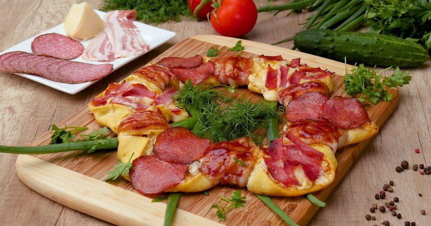 Піца «Кільце» подивитися рецепт