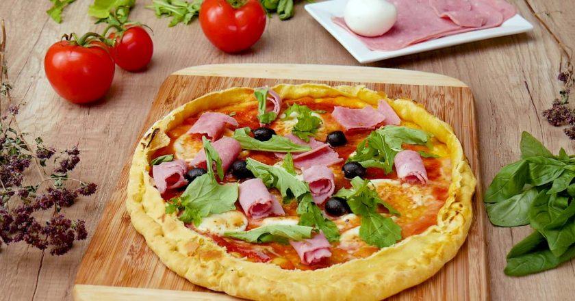 Піца «Фламбе» подивитися рецепт