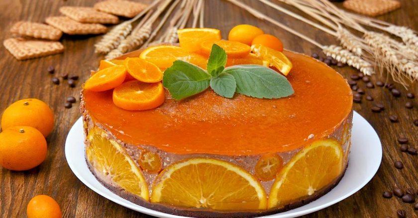 Апельсиновий чізкейк подивитися рецепт