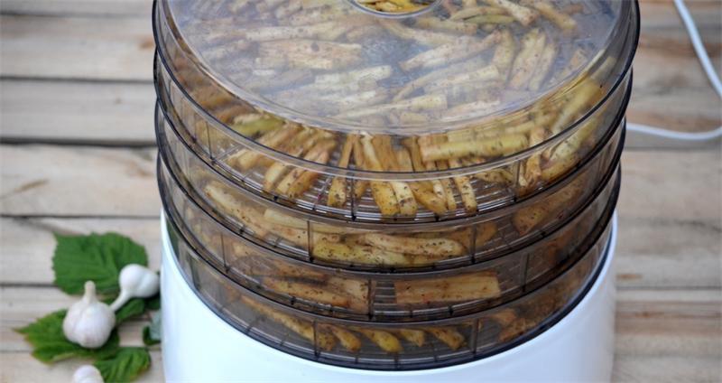 Сушені баклажани