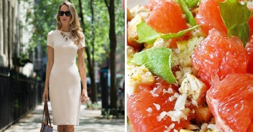 Салат з грейпфрутом і селерою подивитися рецепт