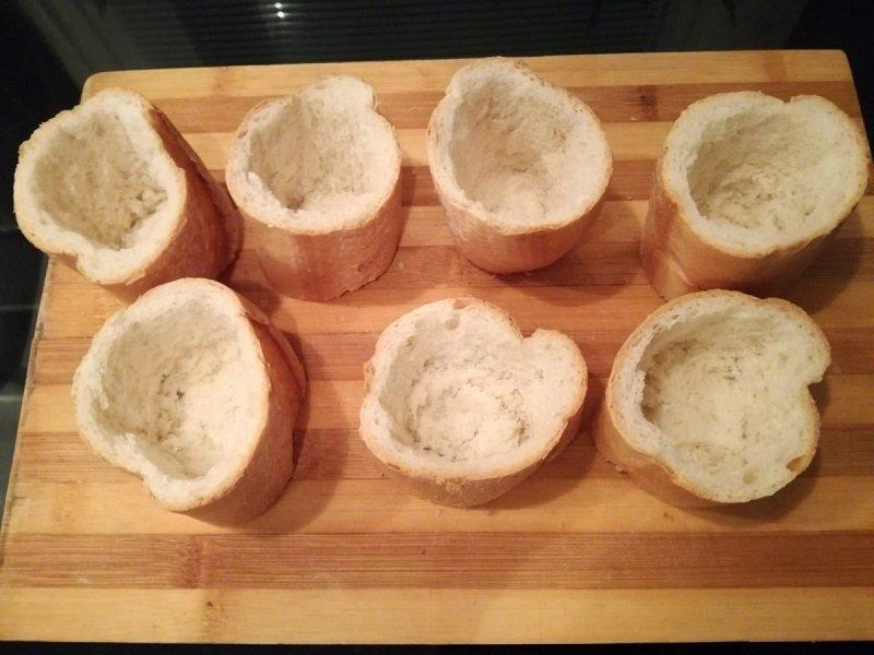 Пиріжки з багета