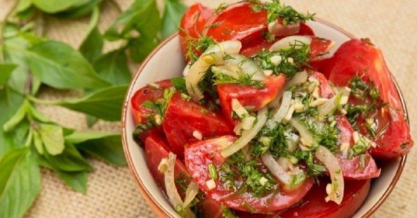 Швидкі мариновані помідори як приготувати, покрокові рецепти від «Це Смак»