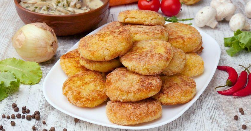 Котлети з рисом і картоплею подивитися рецепт