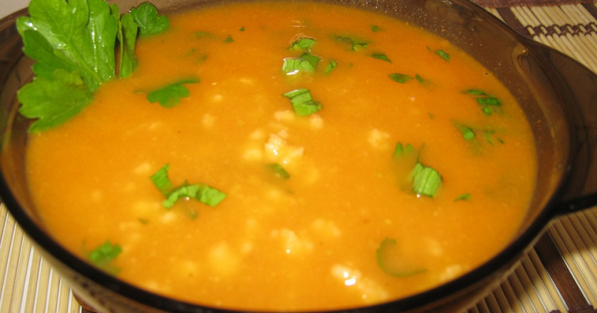 Кабачковий суп подивитися рецепт