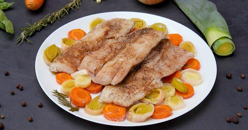 Риба, запечена з розмарином подивитися рецепт