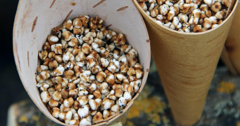 Попкорн з гречки подивитися рецепт