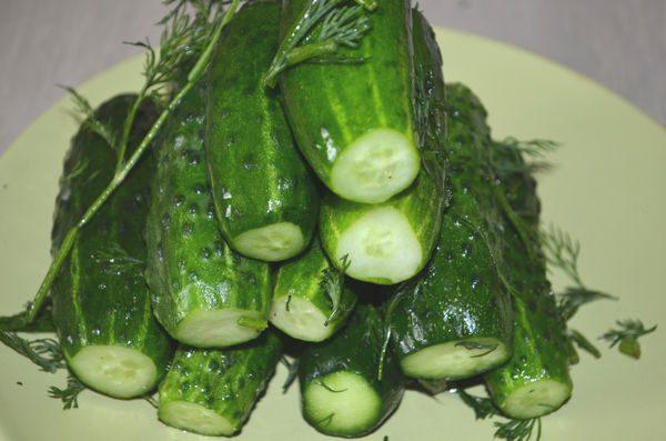 Малосольні огірки в пакет