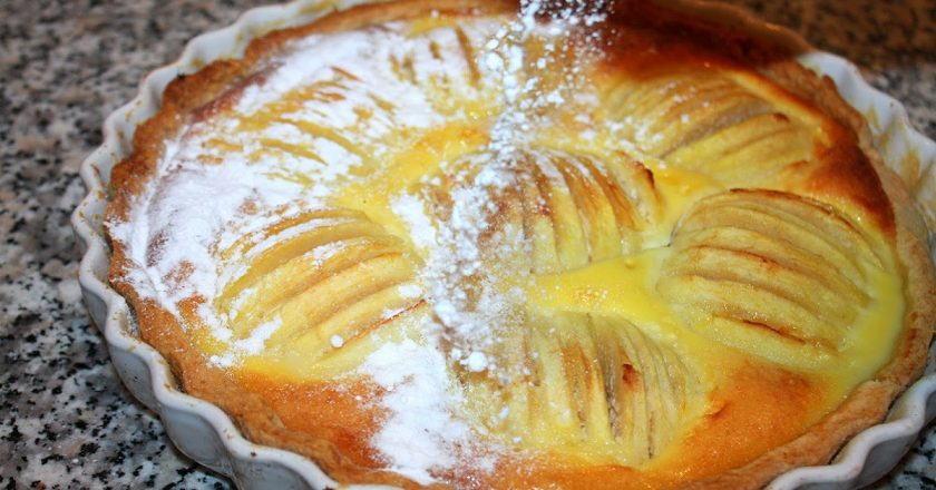 Ельзаський пиріг подивитися рецепт