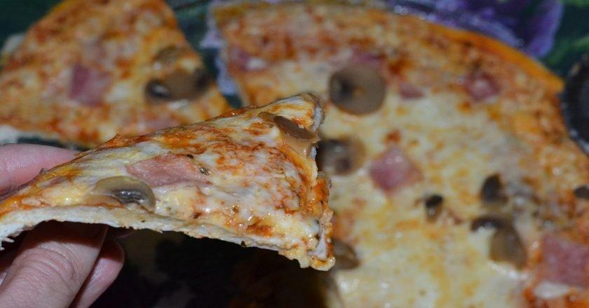 Піца в мікрохвильовці як приготувати, покрокові рецепти від «Це Смак»