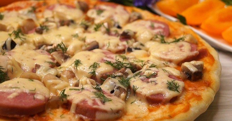Піца в мікрохвильовці