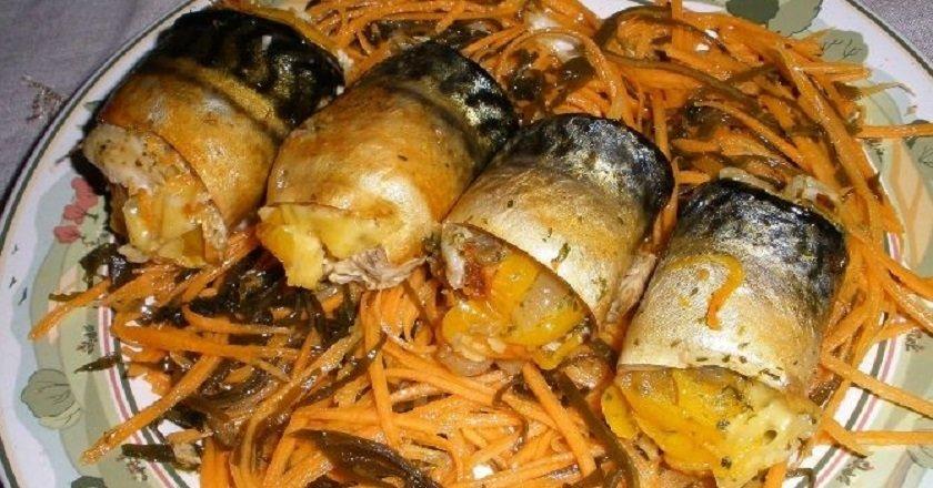 Рулети з скумбрії як приготувати, покрокові рецепти від «Це Смак»