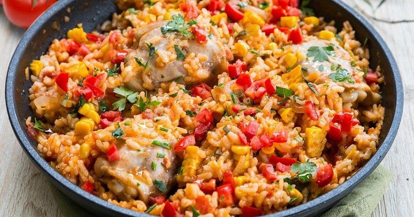 Рис по-мексиканськи подивитися рецепт
