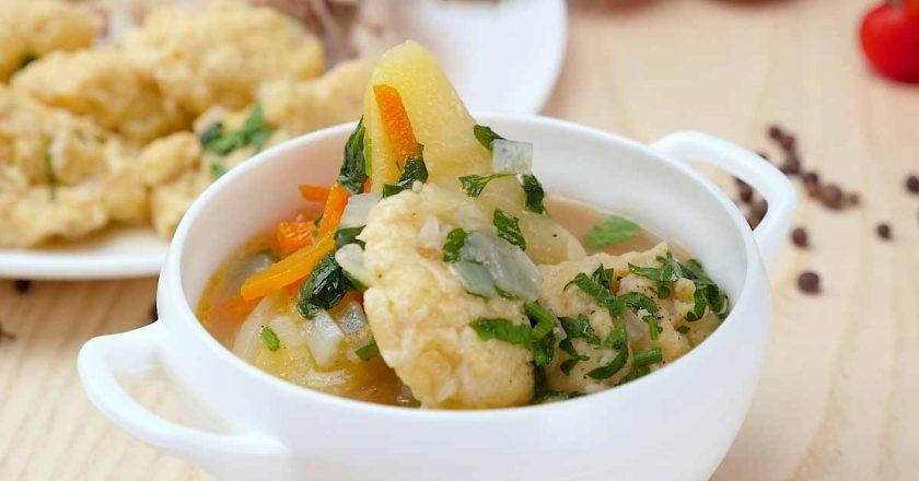 Суп з галушками по-циганськи подивитися рецепт