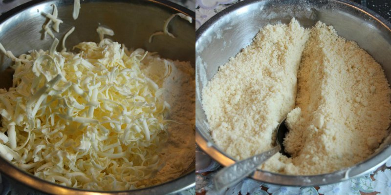 Абрикосовий насипний пиріг
