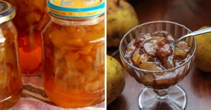 Варення з груш подивитися рецепт