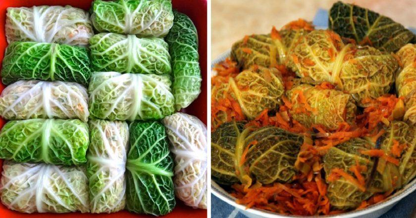 Голубці з савойської капусти як приготувати, покрокові рецепти від «Це Смак»