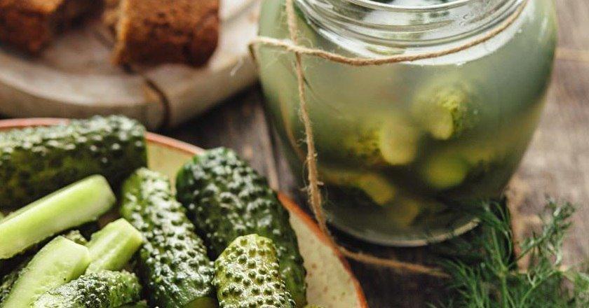 Консервовані огірки подивитися рецепт