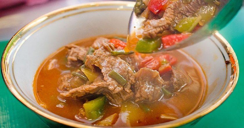 Суп з локшиною і картоплею подивитися рецепт