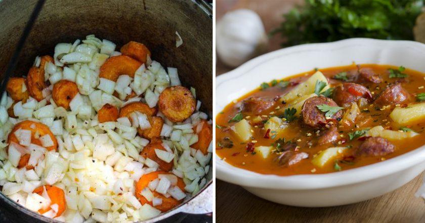 Мисливський суп подивитися рецепт