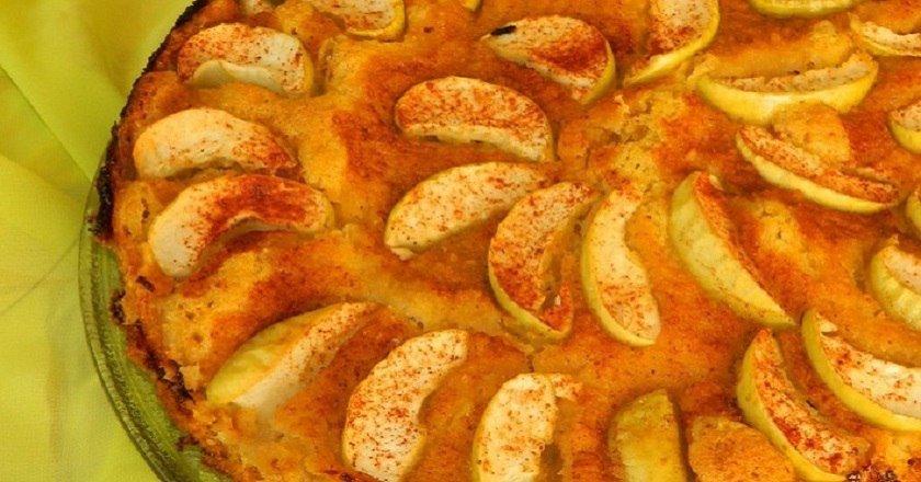 Пісочний яблучний пиріг подивитися рецепт
