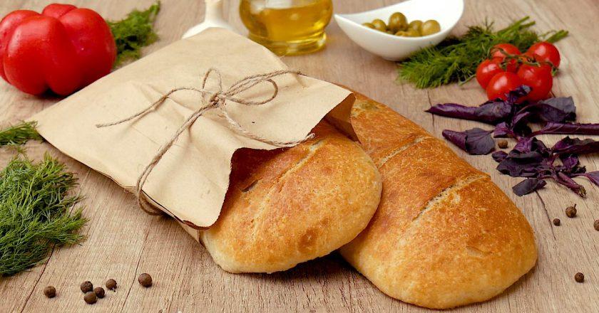 Домашній хліб з зеленню подивитися рецепт