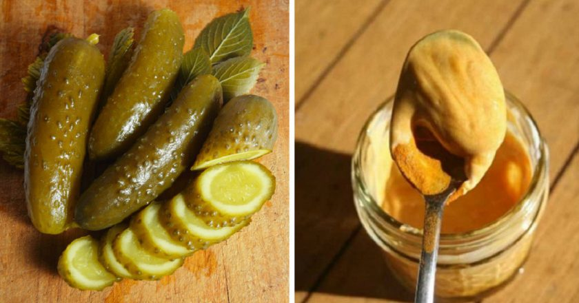 Мариновані огірки з куркумою і гірчицею подивитися рецепт
