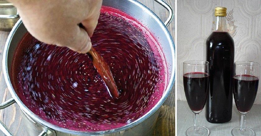 Вино з смородини подивитися рецепт