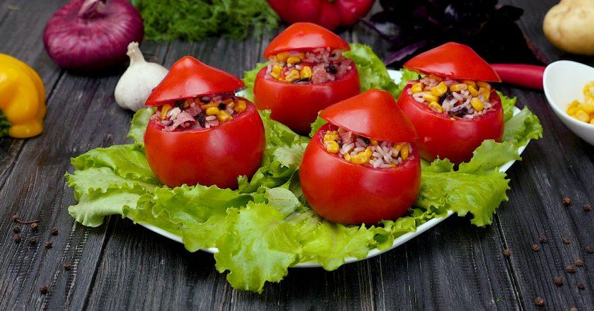 Фаршировані помідори подивитися рецепт