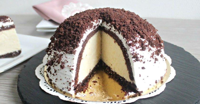 Торт «Високий купол» подивитися рецепт