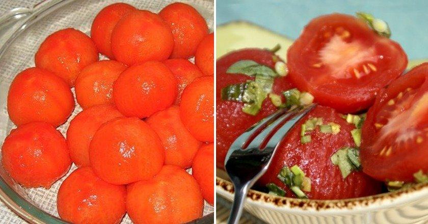 «Голі» помідори як приготувати, покрокові рецепти від «Це Смак»