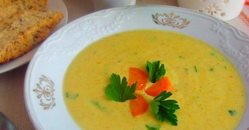 Кабачкове суп-пюре подивитися рецепт