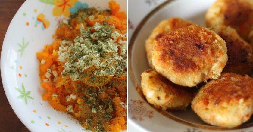 Морквяно-сирні котлети як приготувати, покрокові рецепти від «Це Смак»