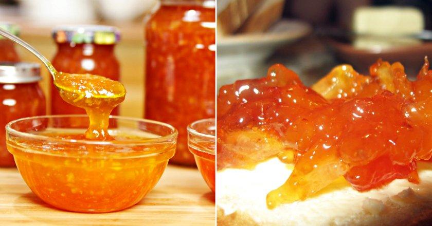 Варення з персиків з цитрусовими подивитися рецепт