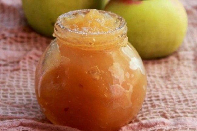 Густе яблучне повидло