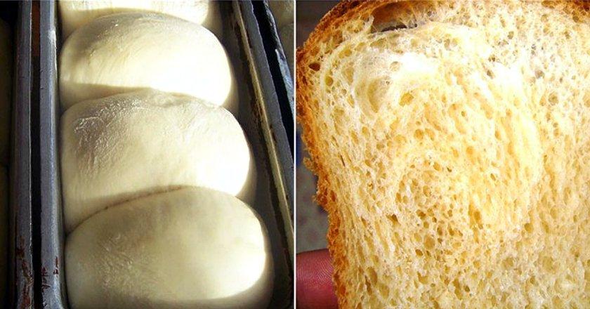 Домашній тостовий хліб подивитися рецепт