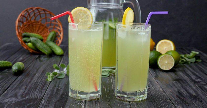 Огірковий лимонад подивитися рецепт
