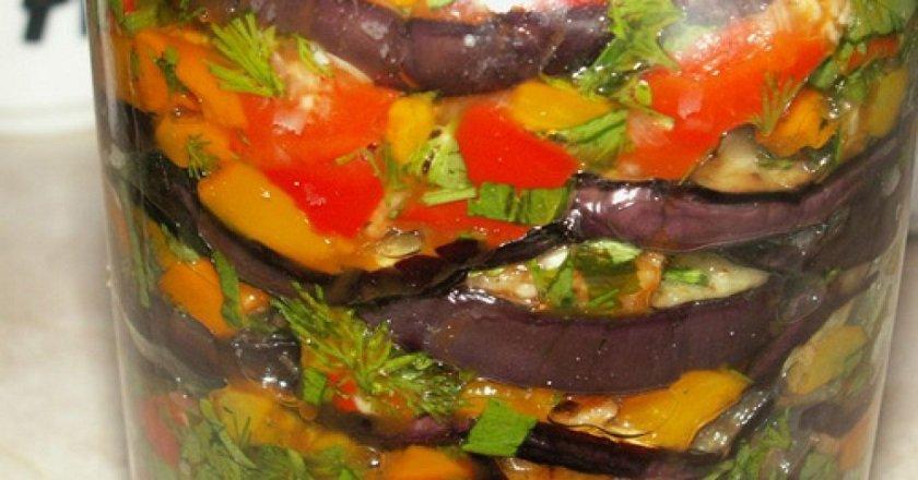 Овочеве асорті в банці подивитися рецепт