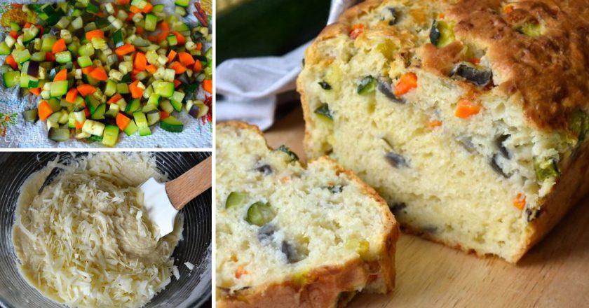 Кекс з овочами подивитися рецепт