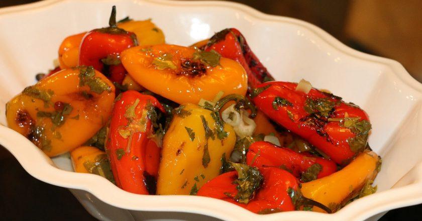 Смажені болгарські перці подивитися рецепт