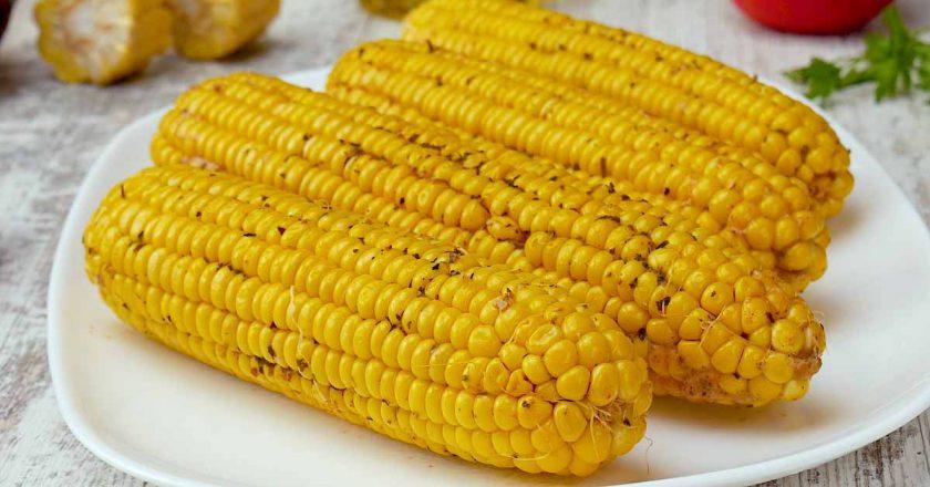 Запечена кукурудза подивитися рецепт
