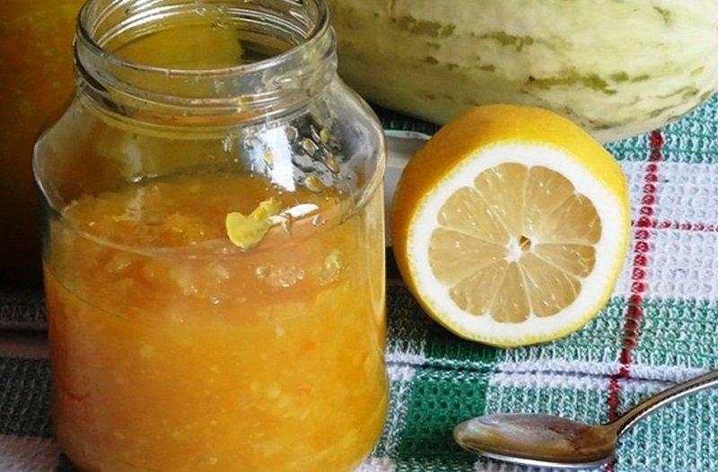 Кабачкове варення з лимоном