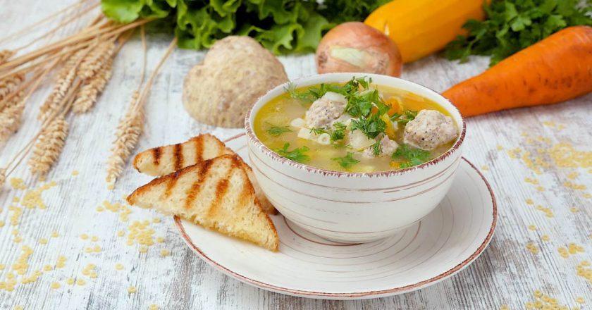 Як приготувати кабачковий суп подивитися рецепт