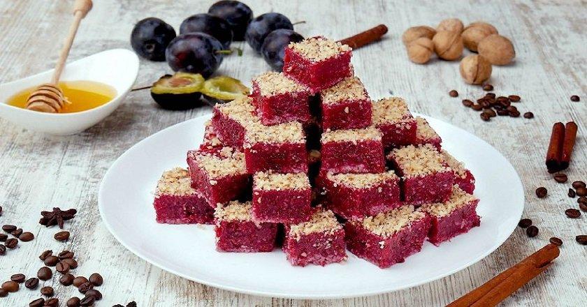 Як приготувати сливовий фруктовий мармелад подивитися рецепт