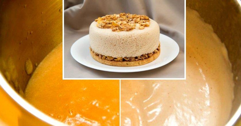 Торт «Грушево-ванільна хмара» подивитися рецепт