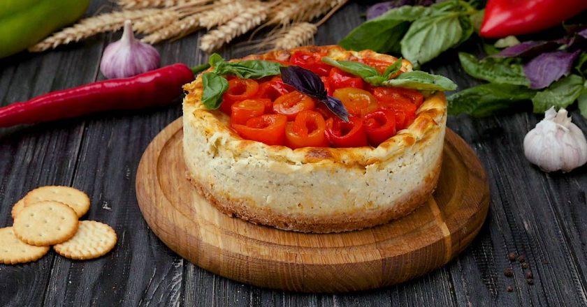 Як приготувати несолодку сирну запіканку подивитися рецепт