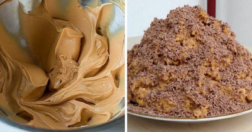 Торт «Мурашник» з печива подивитися рецепт