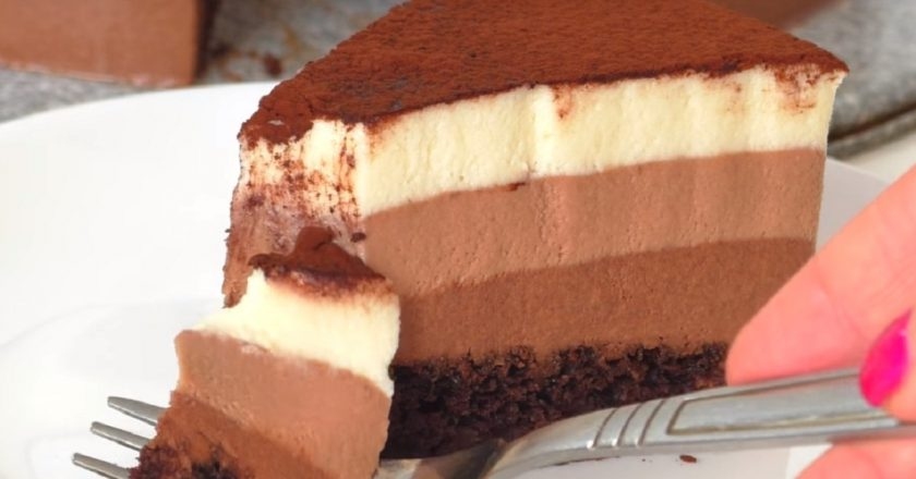 Торт «Три шоколада» як приготувати, покрокові рецепти від «Це Смак»